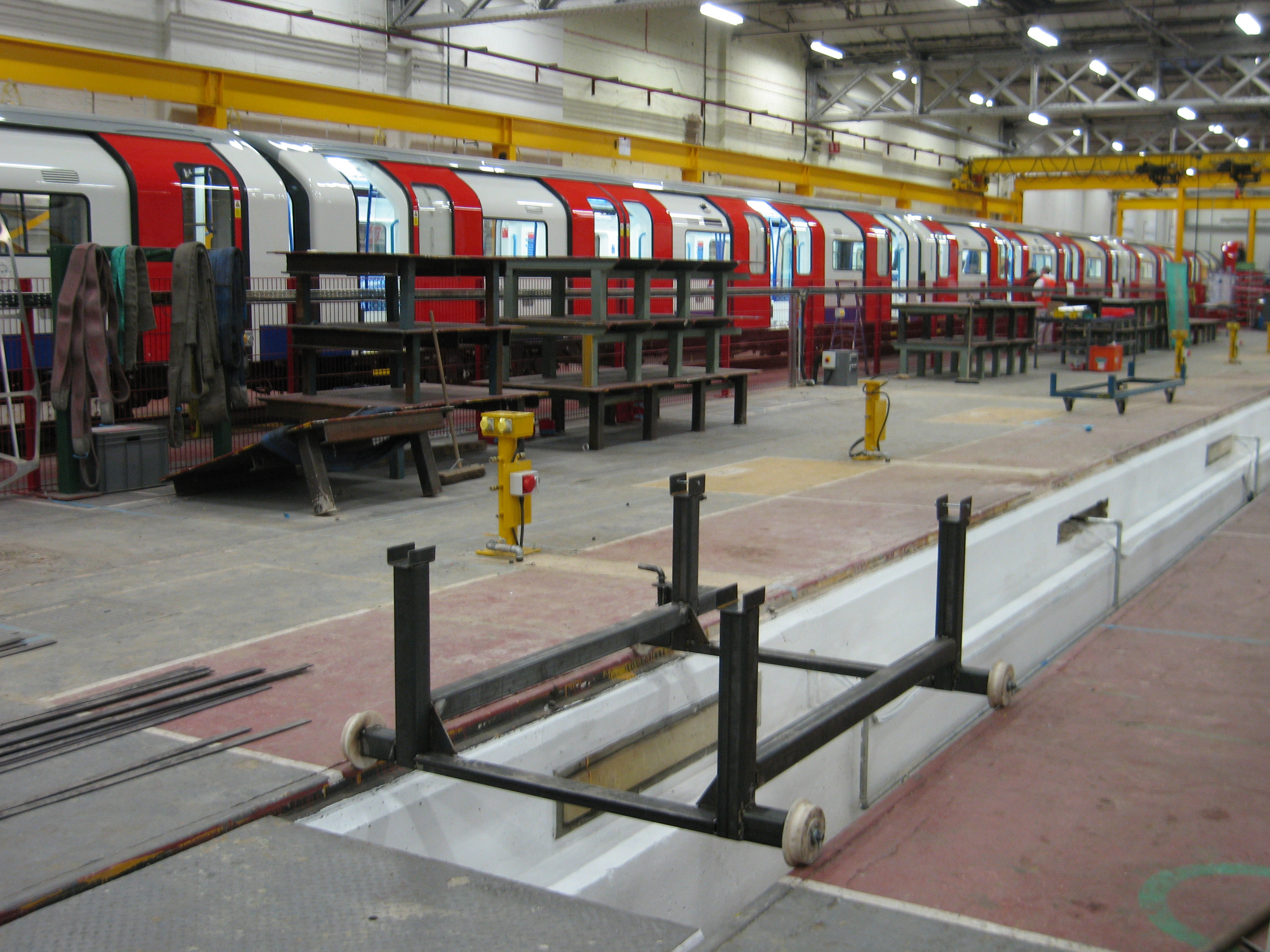 SSL Inter-end Flow Line Project Bogies