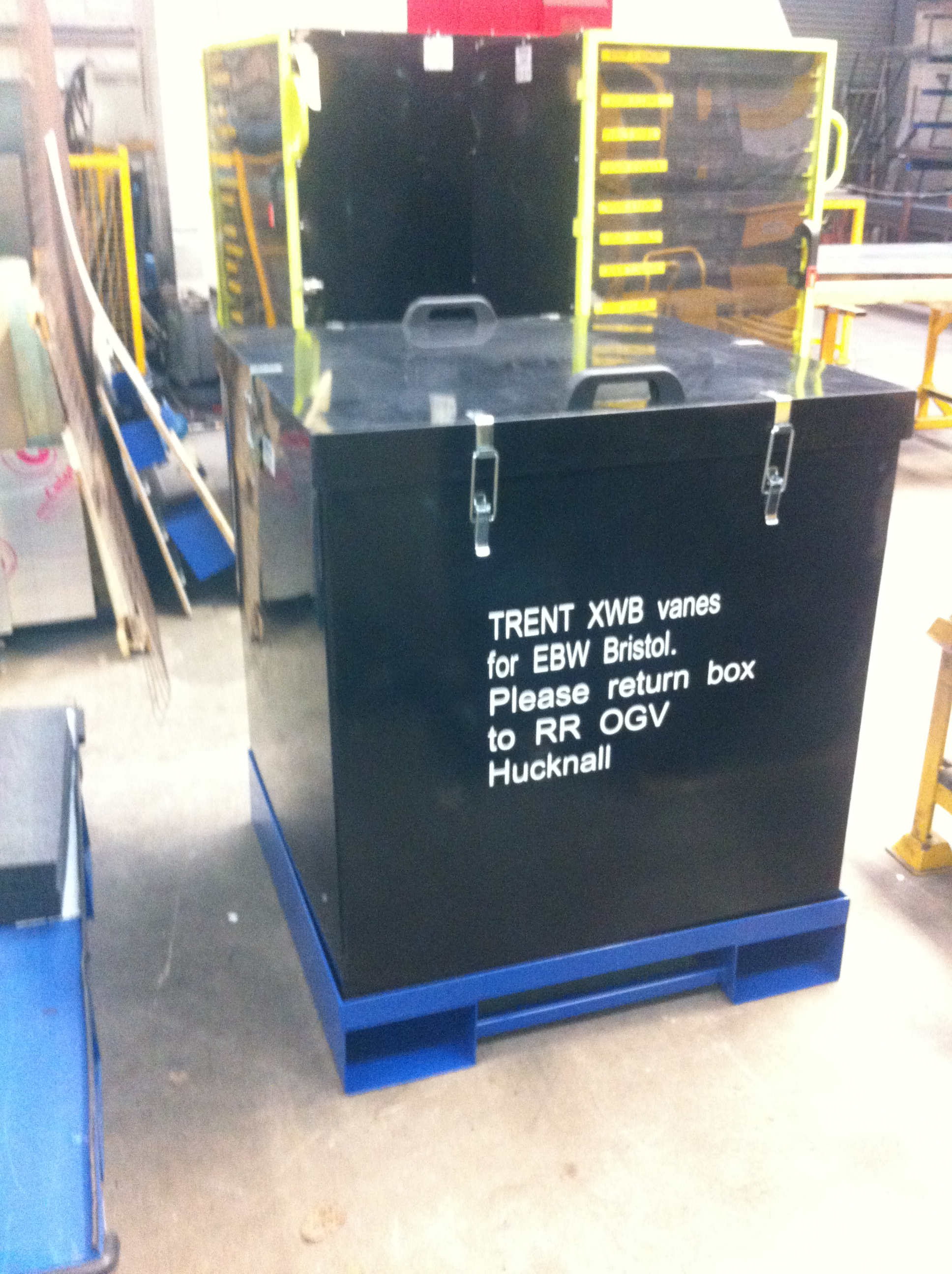 XWB Vane Transport Box – REF 2013-01-9763