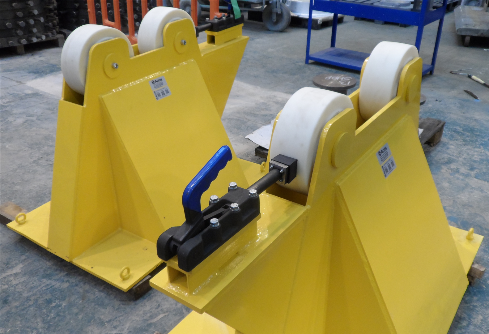 Set of Sizewell Rotor Support Stands – REF 2012-11-9701