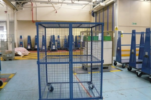 Freeze Dry Area Racking