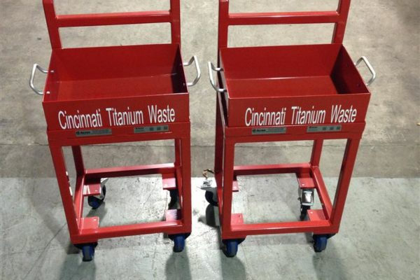 Engine Strip Storage Trolley