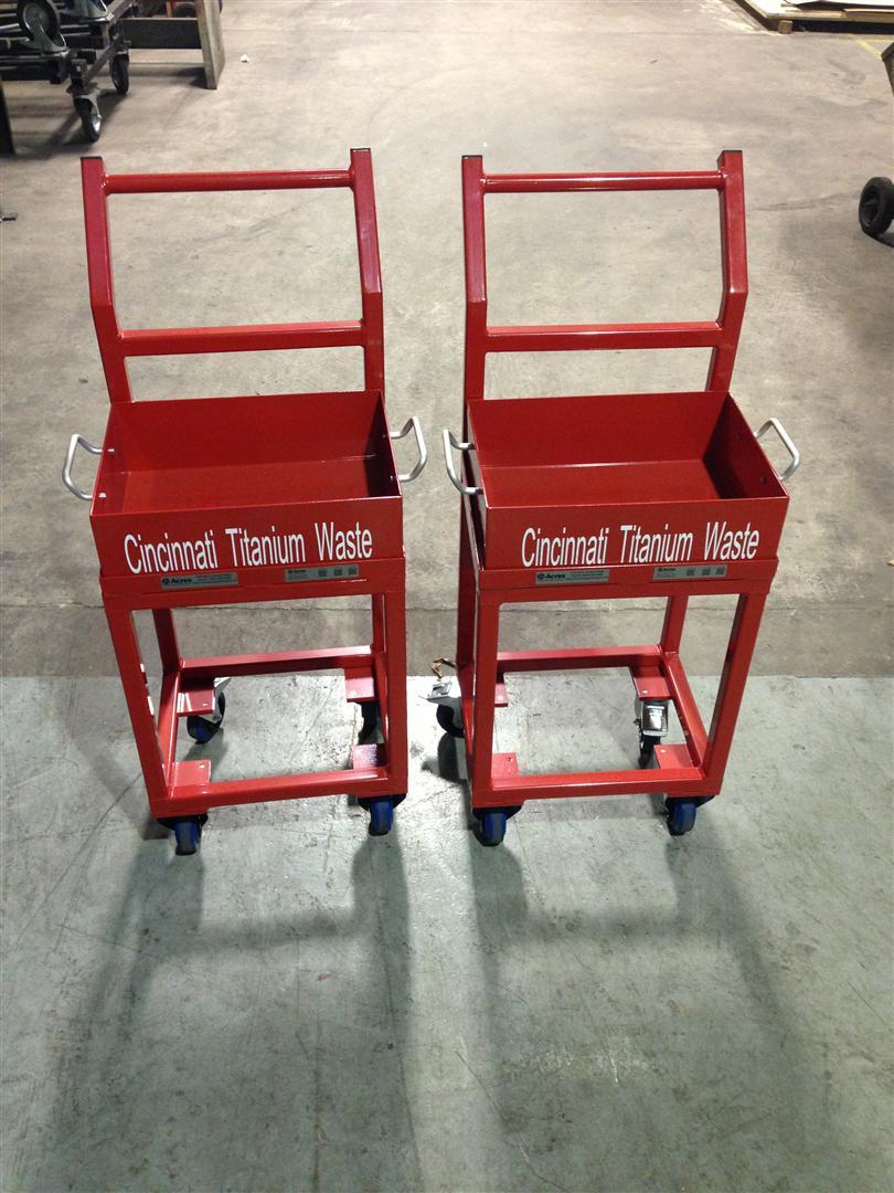 AD-247-2013-08 – Cincinnati Titanium Waste Trolley