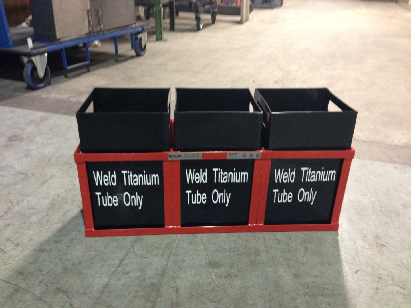 AD-249-2013-08 – Waste Trays for Weld Area