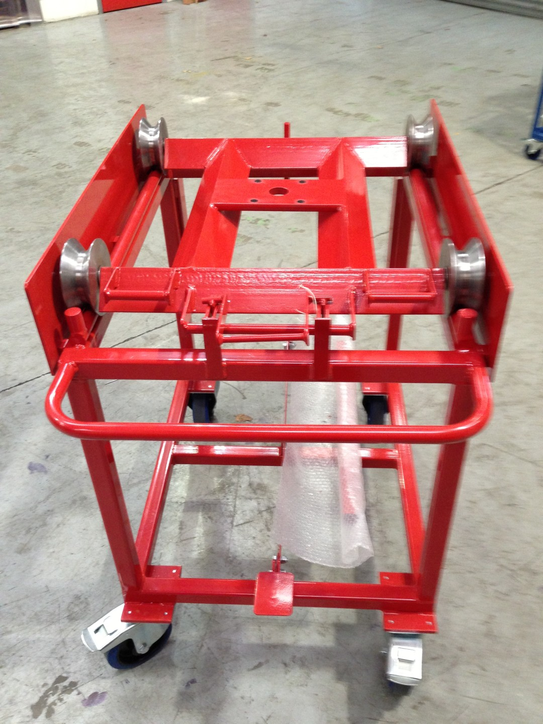 2013-07-10160 – Side Wall Jig Trolley and Bogie