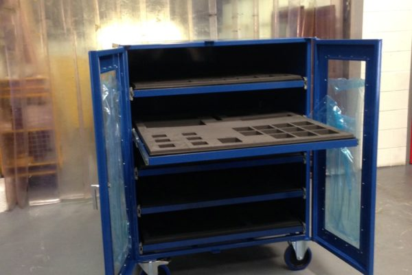 ASRS Automatic Loading Trolley Mk2 Prototype
