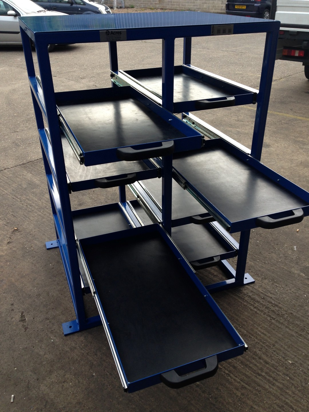 Tooling Fixture Drawers