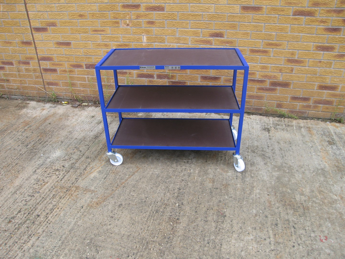 Biology Tray Trolleys