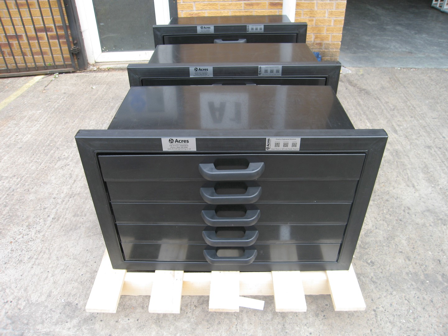 A Frame HDPE Drawer Unit