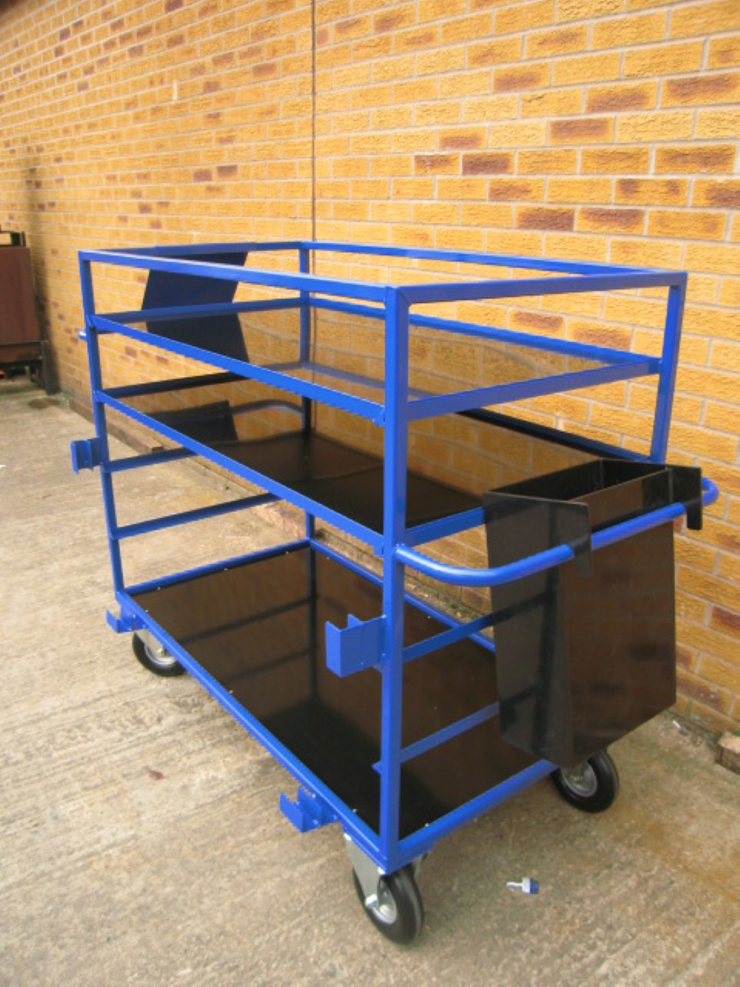 Put Away Location Bin Trolleys