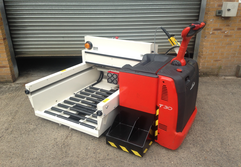 Trak® Xchange Battery Changing Solution – 90 Degree PU 1250 X 1000