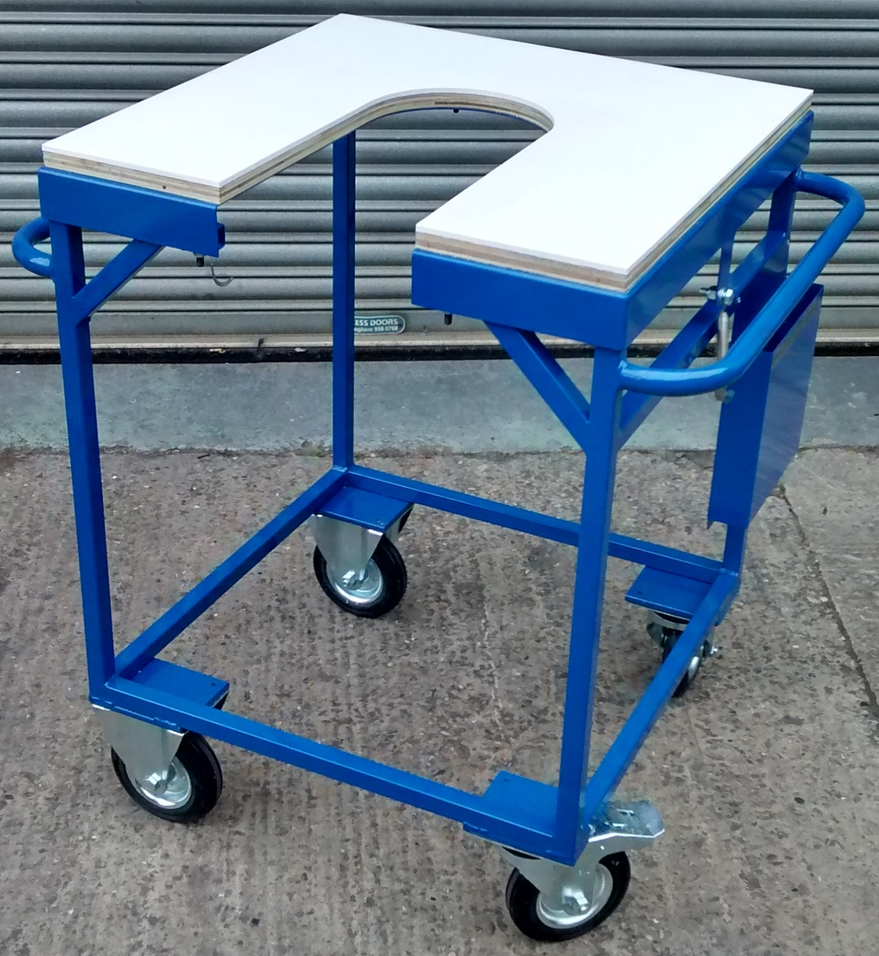 Gain and Maintain Large Chill Cast Trolleys