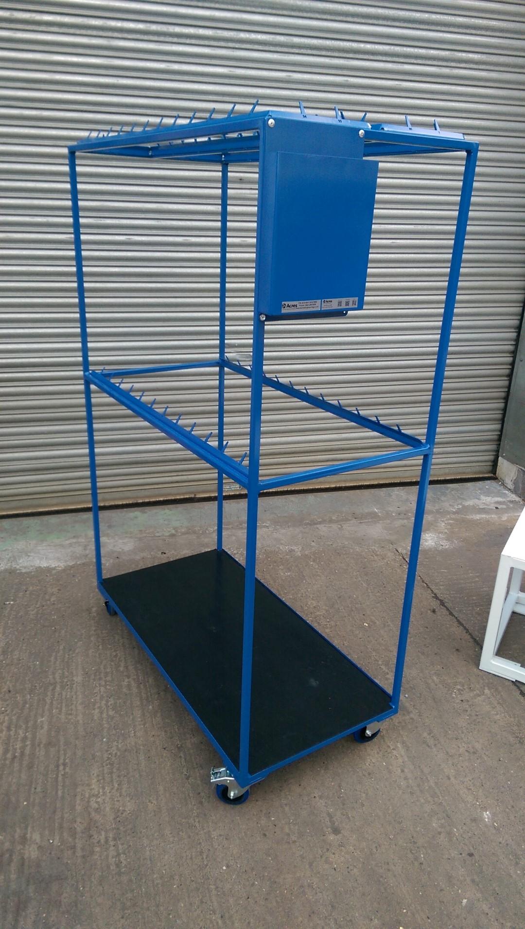 Pipe Rack Storage Trolley