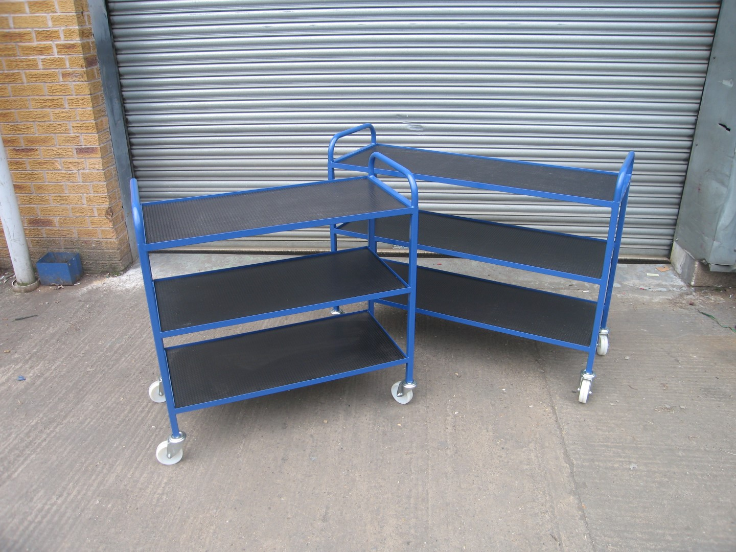 Physics Pump Trollies