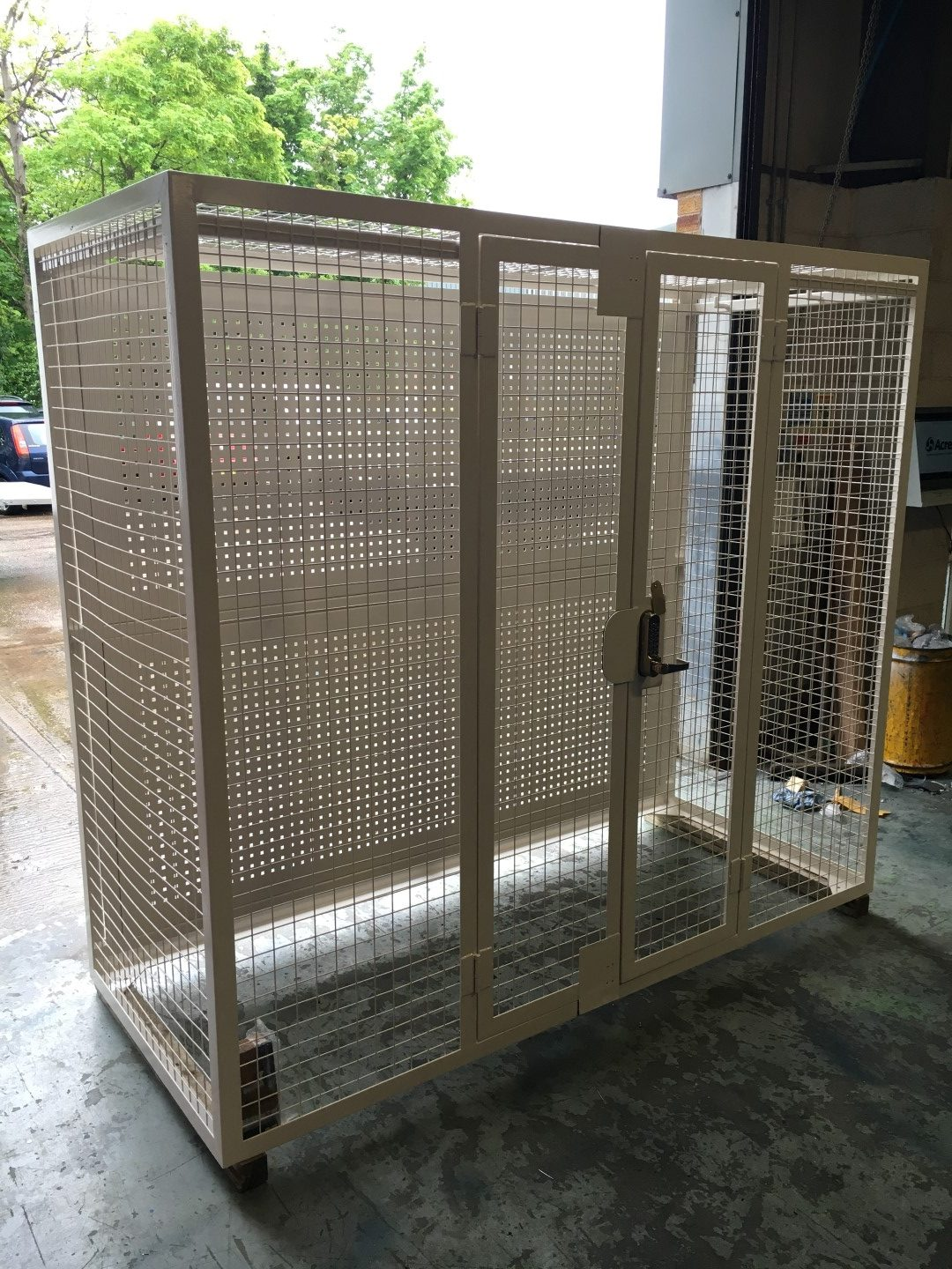 Lifting Equipment Storage Cage Acres Engineering