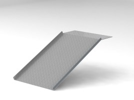 Aluminium Tread Plate Ramp (Custom)