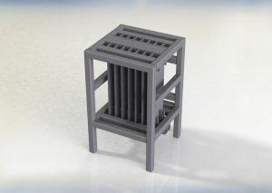 Engine Spacer Rack CAD