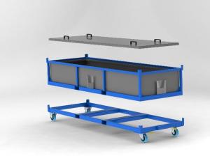 Large Tube Box (Anaconda Case) render