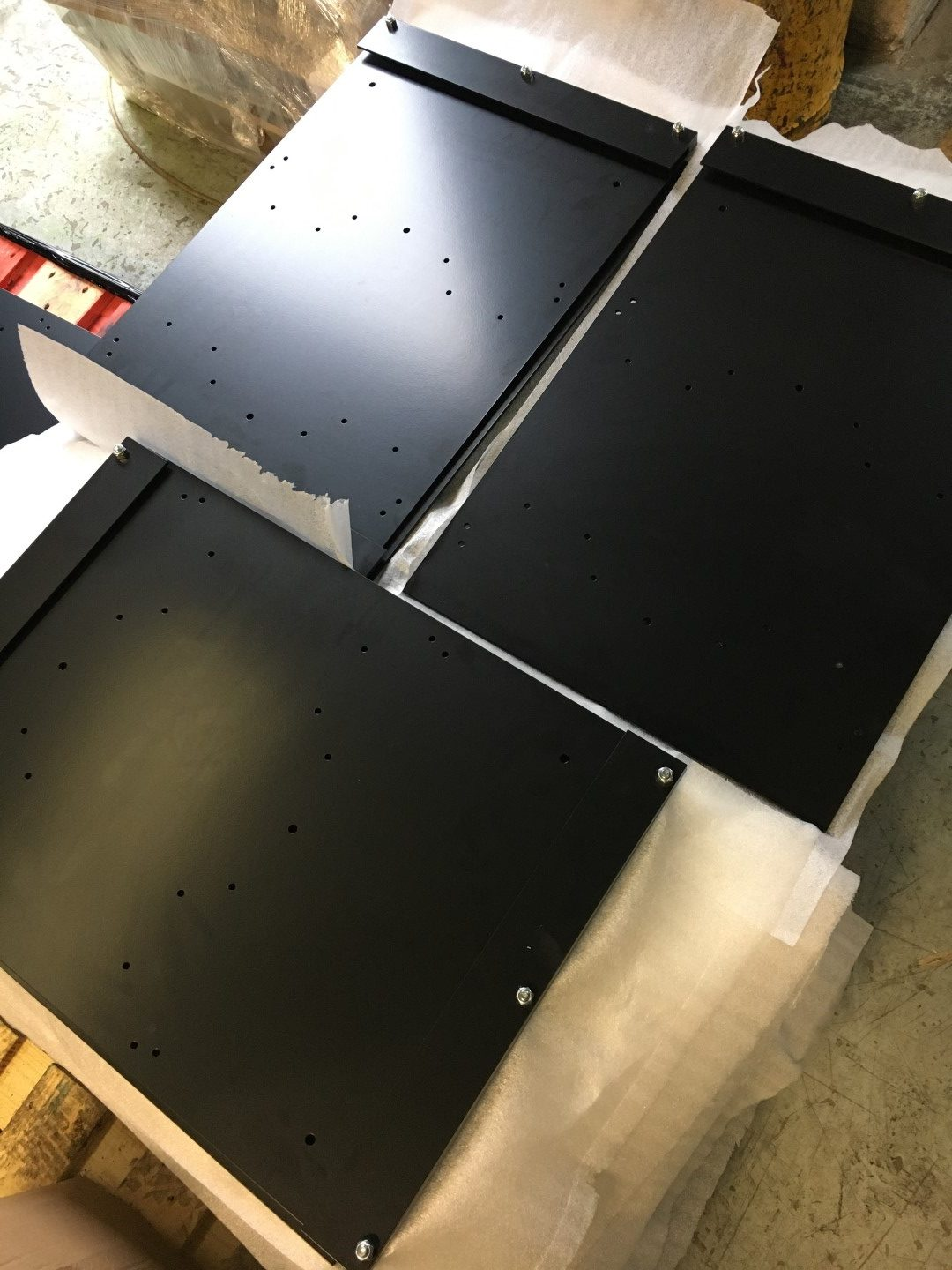 Charger Mount Plates and Balancer Mount Plates
