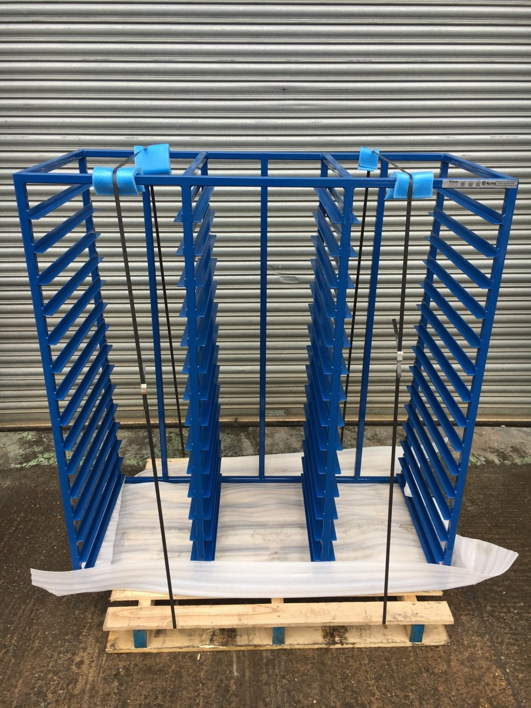 Triple Tray Rack for NPI Department
