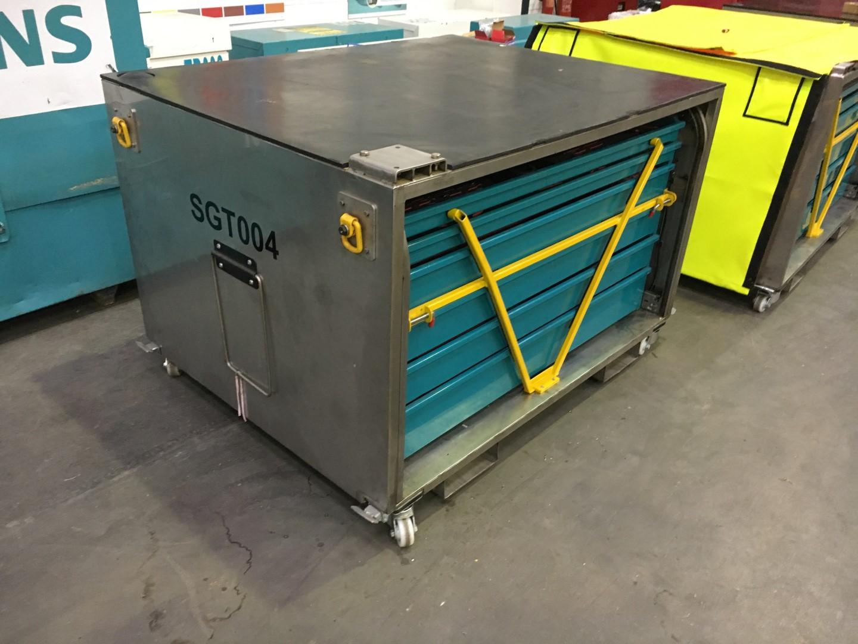 Tool Box Locking Mechanism