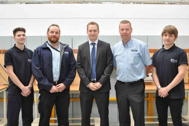 Acres Take On Two New Apprentices