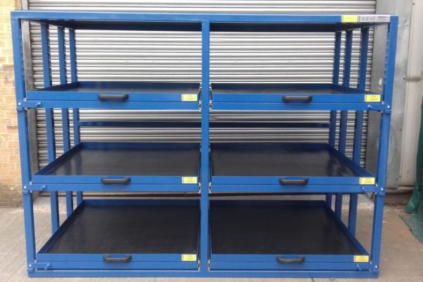 C4 Fitting Shop Pull-out Tooling Shelving Rack