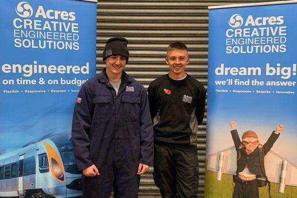 Acres Welcomes New Apprentices