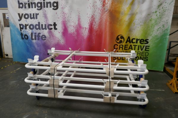 Painted Parts Stillage Dolly