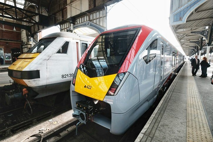 Greater Anglia's new Stadler trains complete first year of operation on performance high