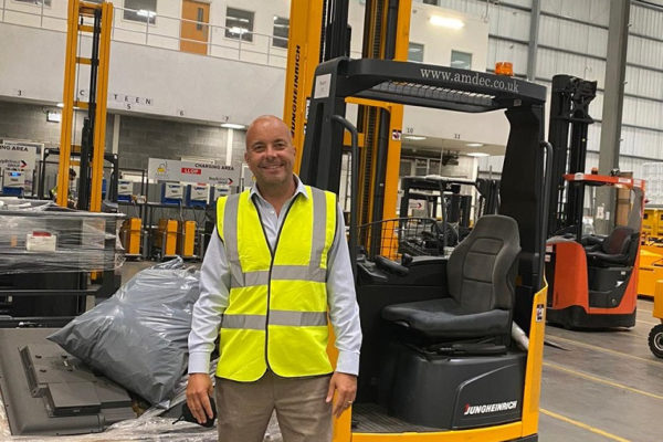 RECRUITMENT FIRM LAUNCHES DRIVE FOR NEW FORKLIFT DRIVERS