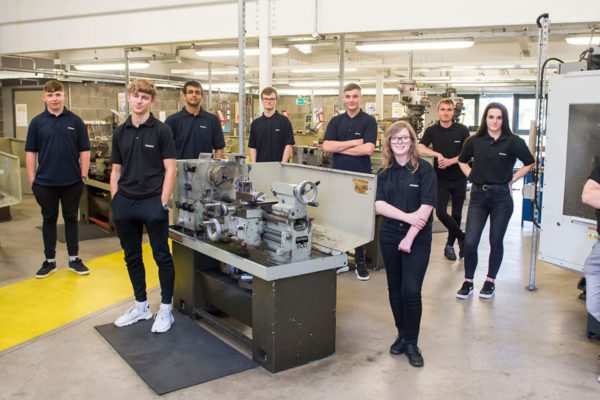 Siemens Mobility's first Goole apprentices start college